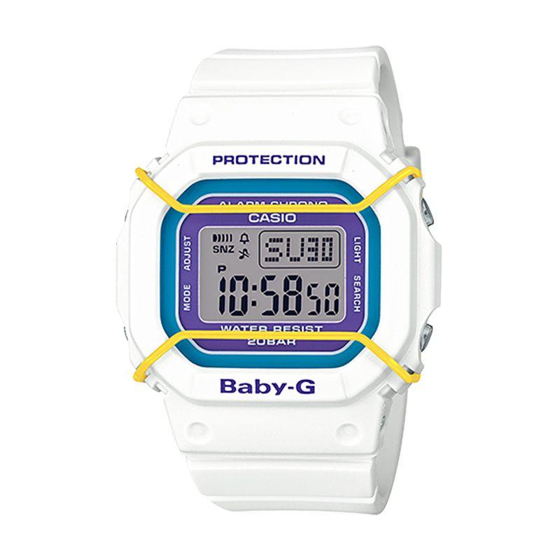 Casio Baby-G BGD-501-7B Sports White Jam Tangan Wanita