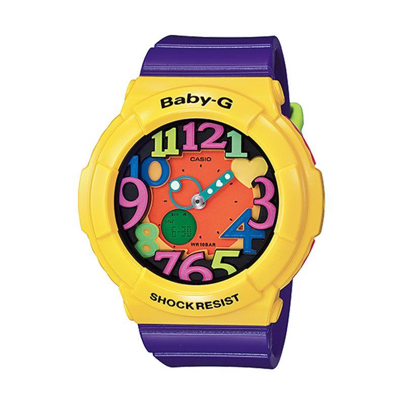 CASIO Baby-G Neon Illuminator BGA-131-9B Yellow Jam Tangan Unisex