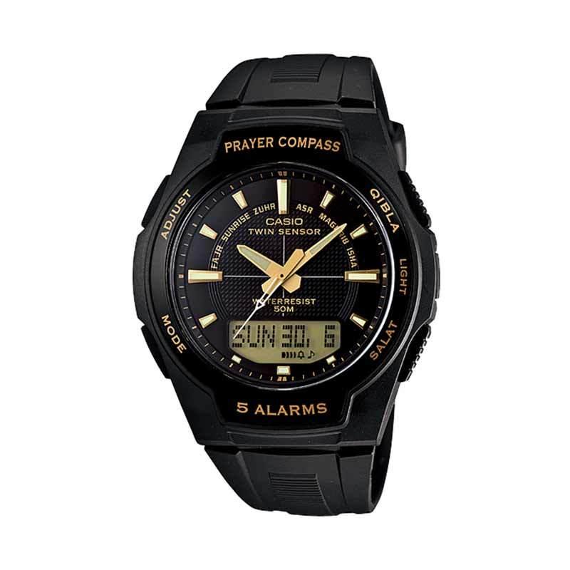 CASIO CPW-500H-1AV Prayer Compass