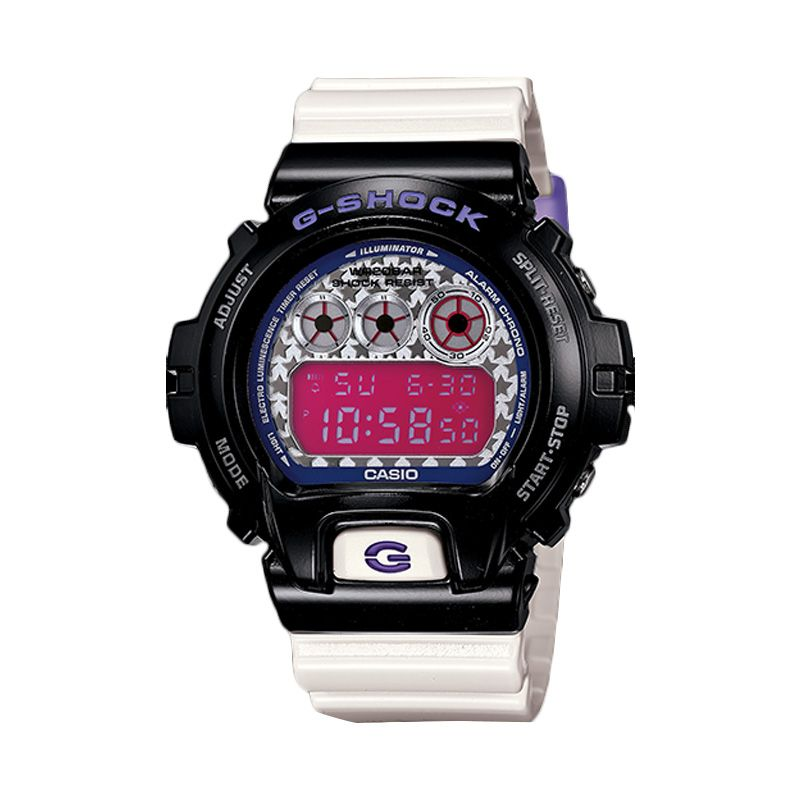 CASIO G-SHOCK Crazy Colours DW-6900SC-1DR Black Jam Tangan Pria