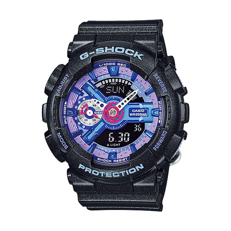 Casio G-Shock Femme GMA-S110HC-1ADR Jam Tangan Wanita