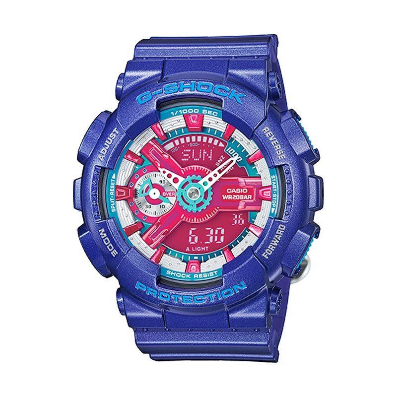 Casio G-Shock Femme GMA-S110HC-2ADR Jam Tangan Wanita