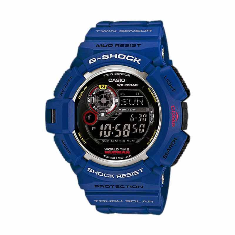 CASIO G-SHOCK Jam Tangan Pria G-9300NV-2 Limited Edition Mudman