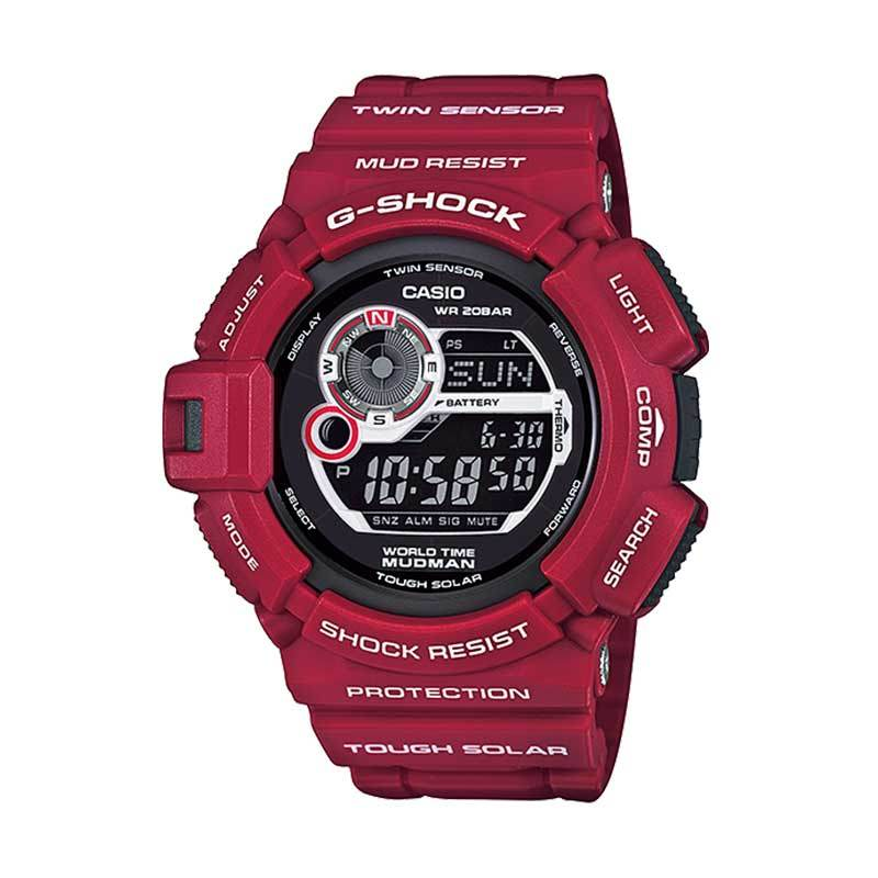 harga CASIO G-SHOCK G-9300RD-4 MUDMAN Red Ltd. Edition Blibli.com
