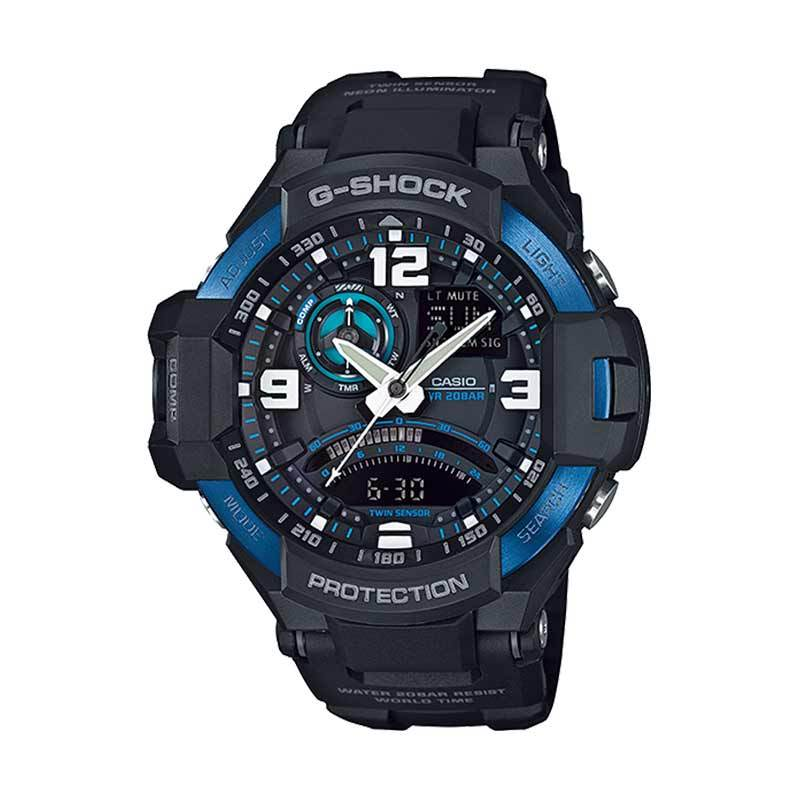 CASIO G-SHOCK GA-1000-2BDR Grafity Defier Blue Ltd. Edition