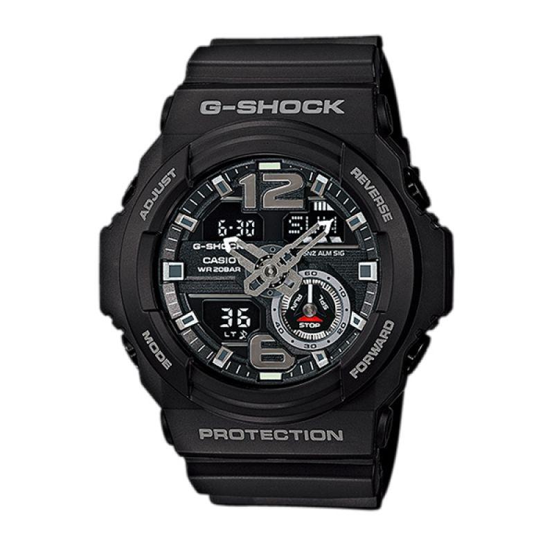 Casio G-SHOCK GA-310-1AV Black Silver Jam Tangan Pria