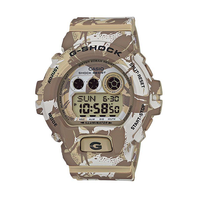 CASIO G-SHOCK GD-X6900MC-5DR Military Camouflage Brown Jam Tangan Pria