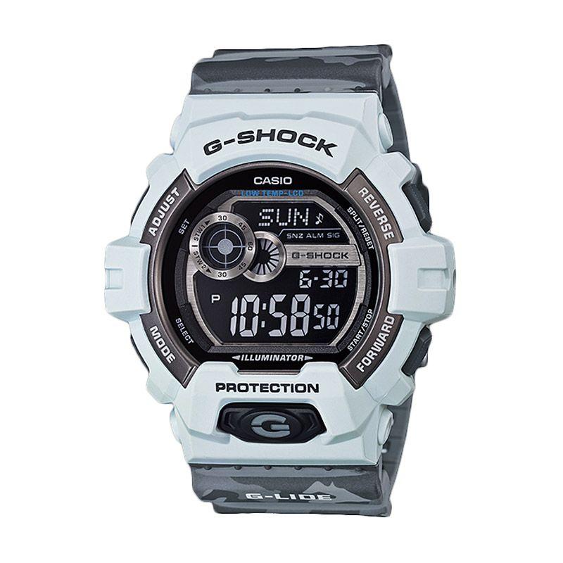 CASIO G-Shock GLS-8900CM-8 Grey Camo Jam Tangan Pria