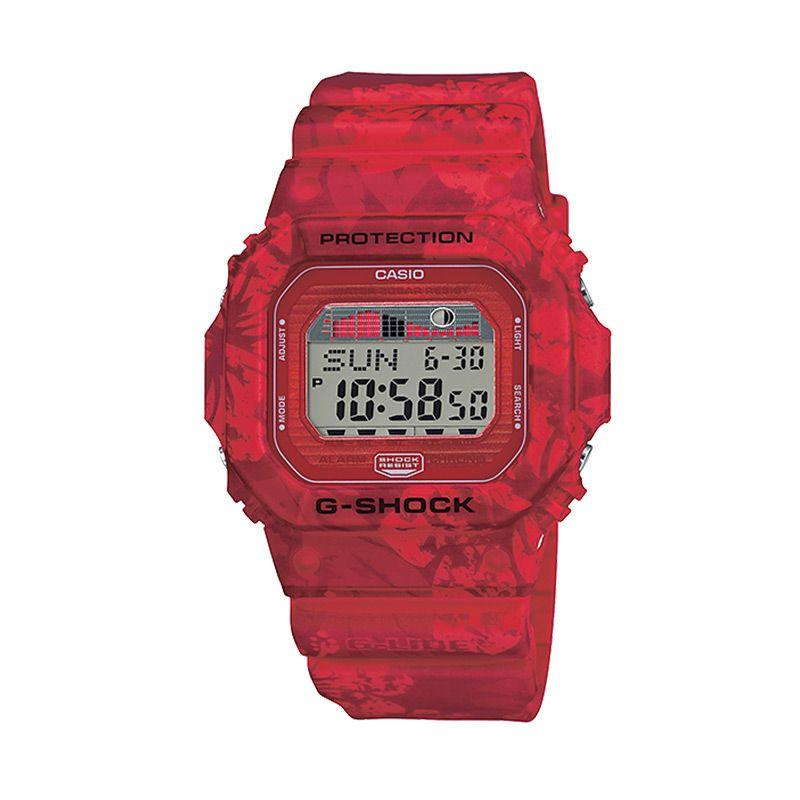 CASIO G-SHOCK GLX-5600F-4DR G-LIDE Aloha Red Jam Tangan Pria