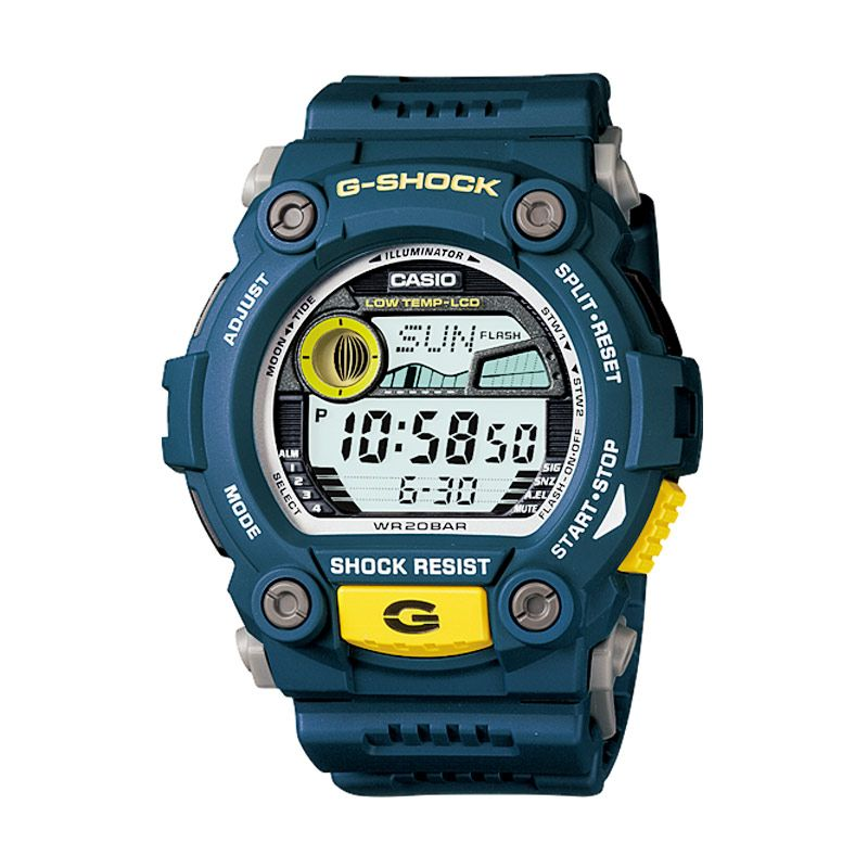 Casio G-Shock Rescue G-7900A-2 Blue Jam Tangan Pria [Limited Edition]