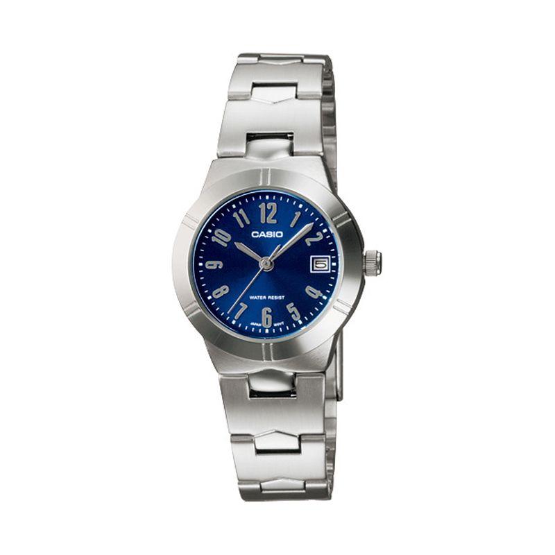 CASIO LTP-1241D-2A2 Dark Blue Jam Tangan Wanita