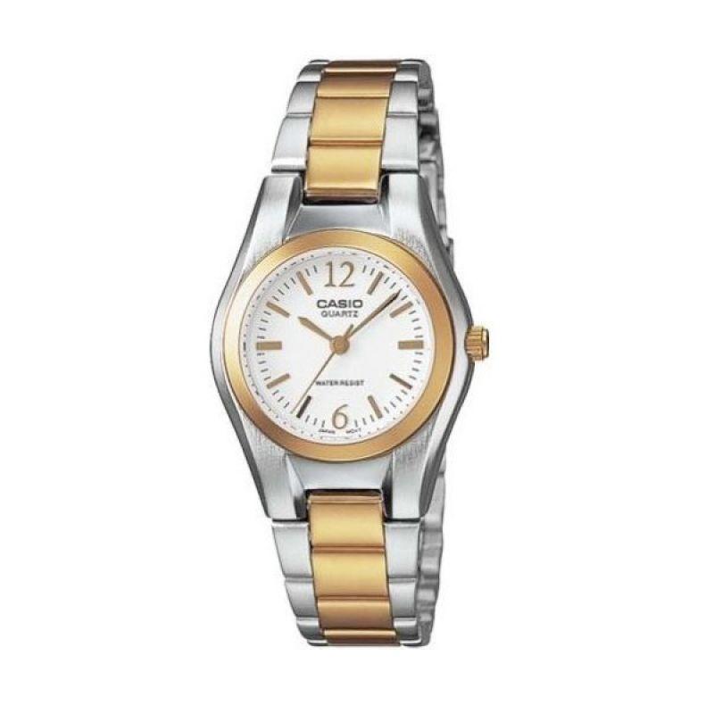 Casio LTP-1253SG-7A Duotone Gold Silver Jam Tangan Wanita