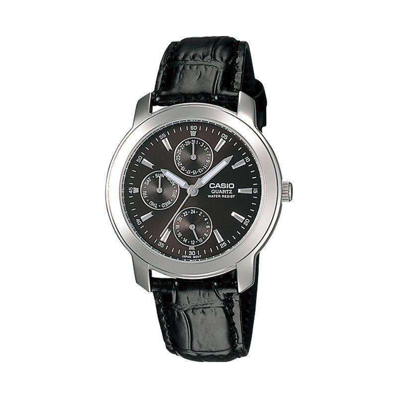 harga Casio MTP-1192E-1A Black Jam Tangan Pria Blibli.com