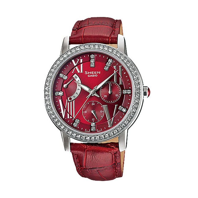 CASIO SHEEN SHE-3025L-4A Jam Tangan Wanita