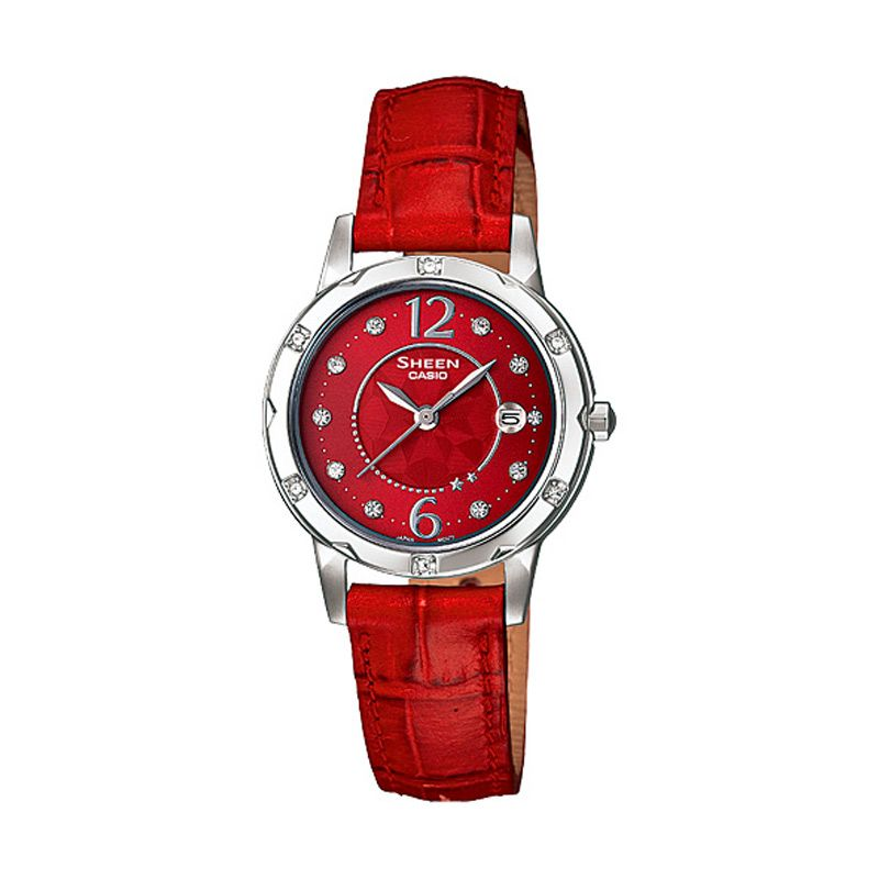 Casio Sheen SHE-4021L-4A Jam Tangan Wanita