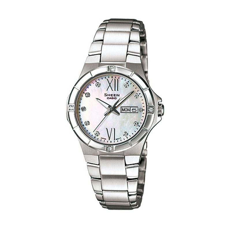 Casio Sheen SHE-4022D-7A Jam Tangan Wanita