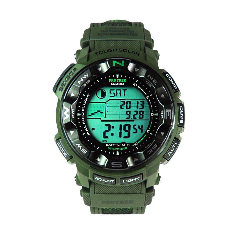Jual CASIO Solar Military PROTREK PRG 250B 3DR Green Camo