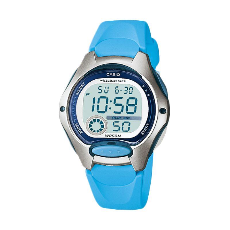Casio Sporty LW-200-2BV Light Blue Jam Tangan Wanita