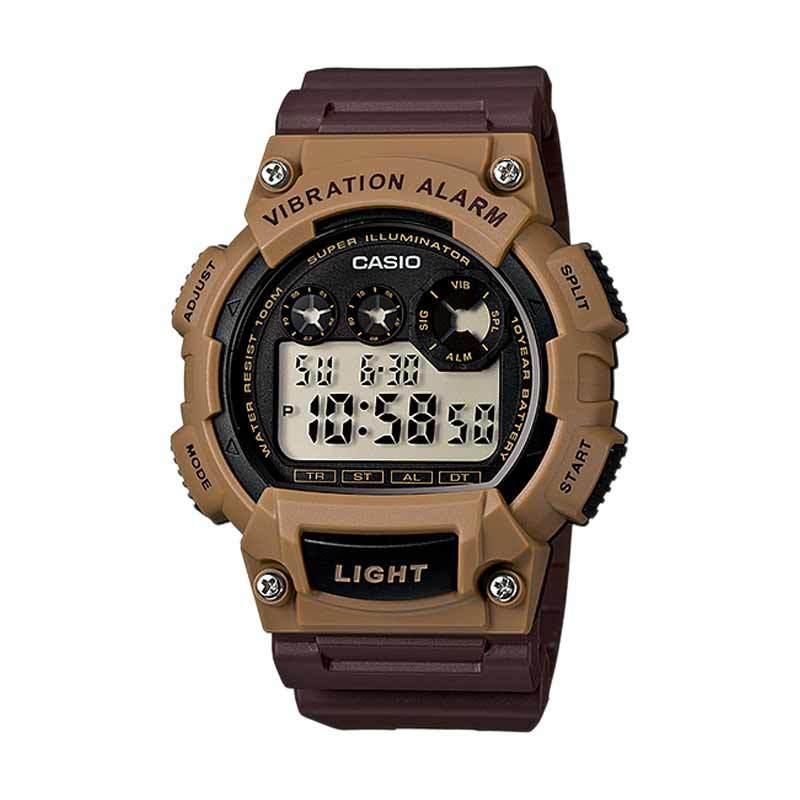 CASIO W-735H-5A Vibe Alarm