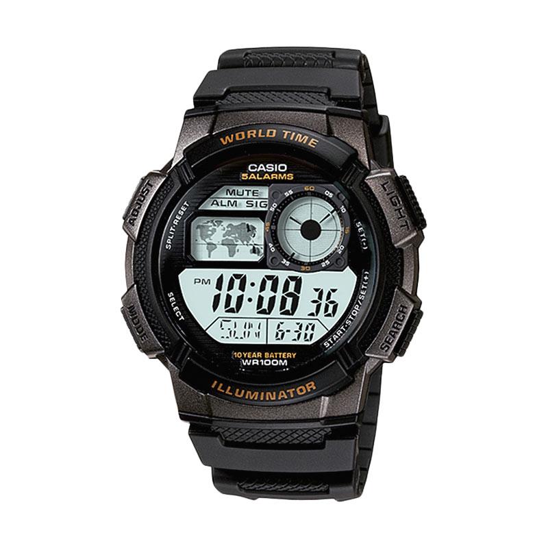 Casio AE-1000-W-1AVDF Jam Tangan Pria Black