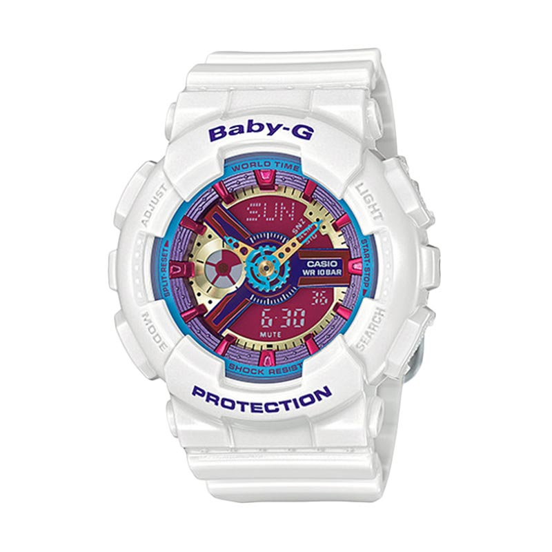 Casio Baby G BA-112-7ADR Jam Tangan Wanita