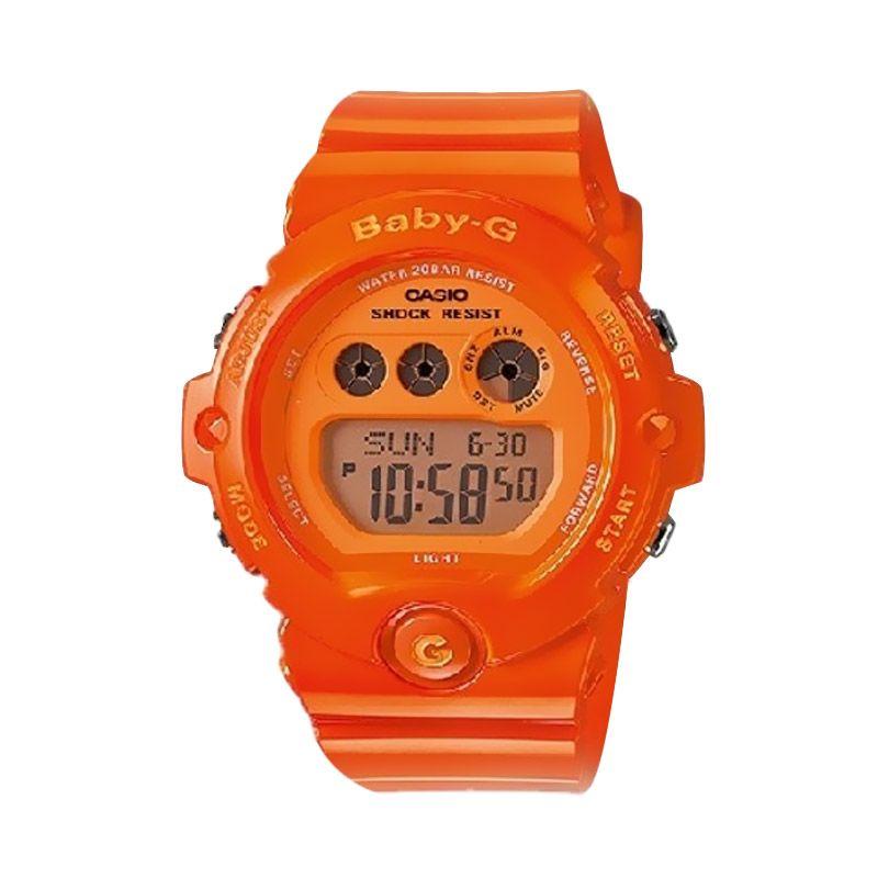 Casio Baby G BG-6902-4BDR Orange Jam Tangan Wanita