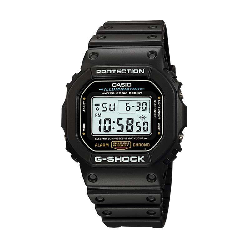 Casio G-Shock DW-5600E-1VQ Jam Tangan Pria