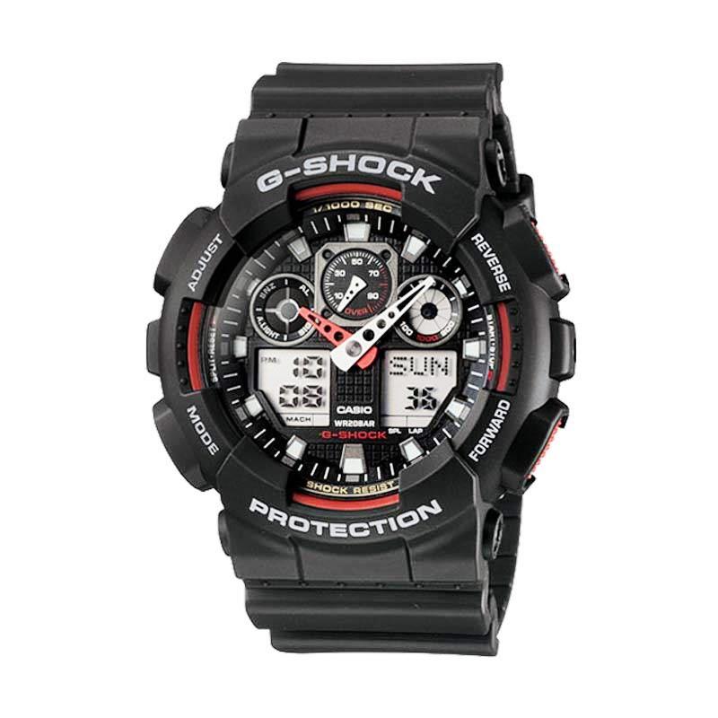 CASIO G-SHOCK GA-100-1A4 Jam Tangan Pria