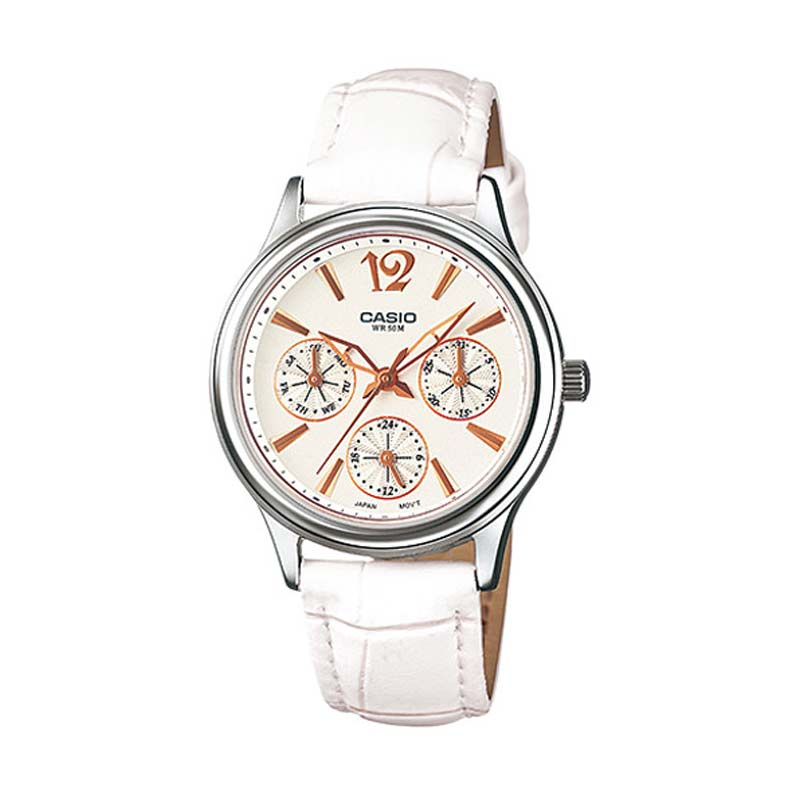 Casio Ladies Analog LTP-2085L-7AVDF - Jam Tangan Wanita