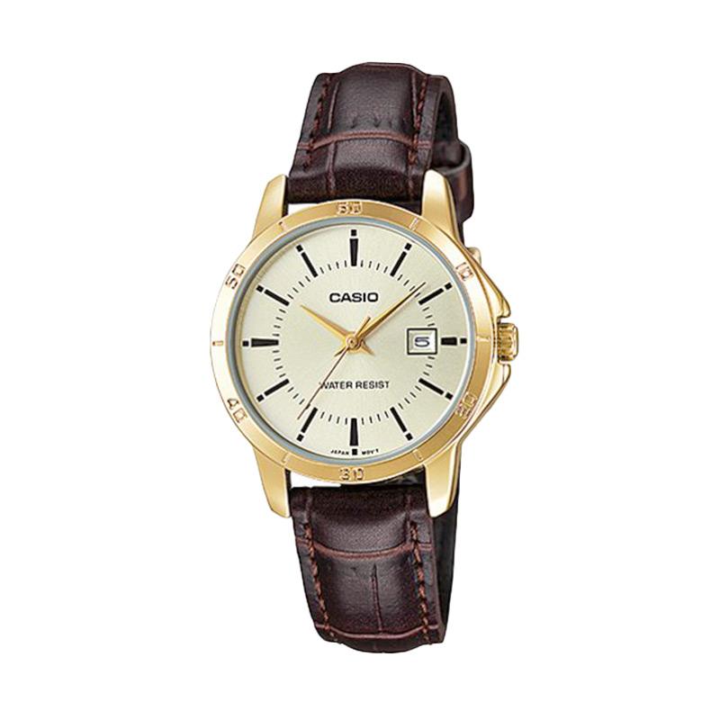 Harga Casio LTP-V004GL-9AUDF - Analog Watch - Jam Tangan Wanita ... ac6f3ab486