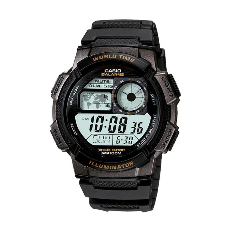 Hasil gambar untuk jam tangan casio pria