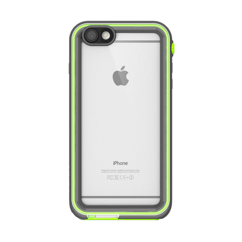 Catalyst casing for iPhone 6 or iPhone 6S - Green Pop (White/Light Gray/Green)