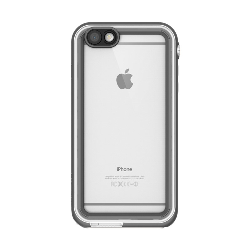 Catalyst casing for iPhone 6 or iPhone 6S - White & Mist Gray (White/Light Gray)