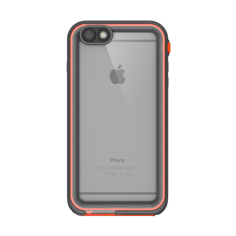 Catalyst casing for iPhone 6Plus or iPhone 6S Plus - Rescue Ranger (Gray/Black/Orange)