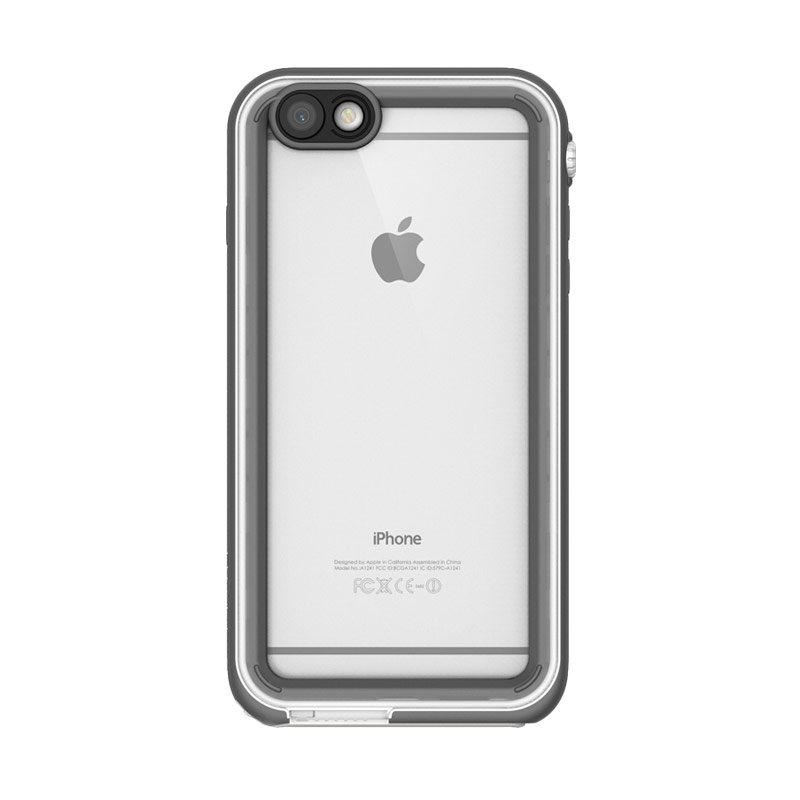 Catalyst casing for iPhone 6Plus or iPhone 6S Plus - White & Mist Gray (White/Light Gray)