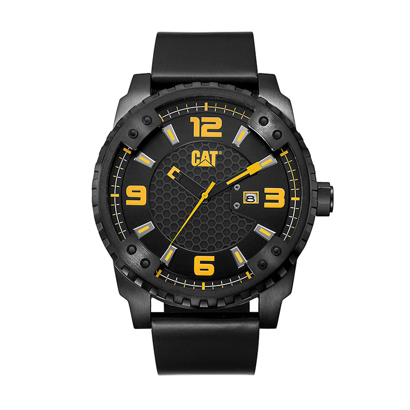 harga Caterpillar Watches Gird CAT SC.161.34.127 Analog JamTangan Pria - Black Blibli.com