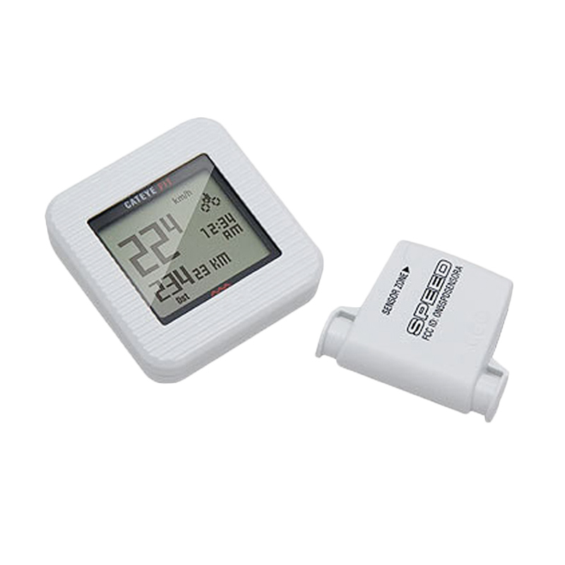 Cateye FIT CC-PD100W Bike & Walk White Speedometer