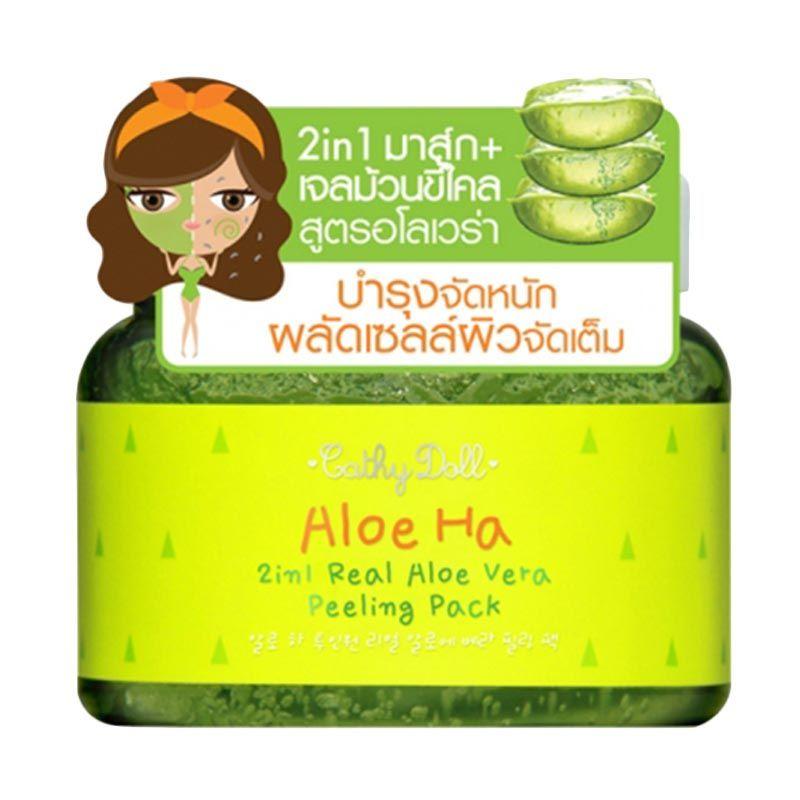 Cathy Doll Aloe Vera Peeling Pack Pembersih Wajah