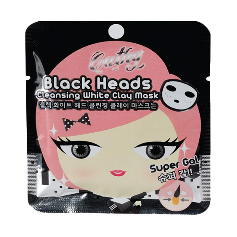 Cathy Doll Black Heads Cleansing White Clay Masker Wajah