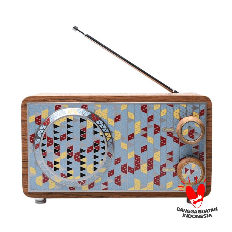 harga SPEKTAFLASH ? Cawang Art Radio Wave Moon Blue Radio Blibli.com