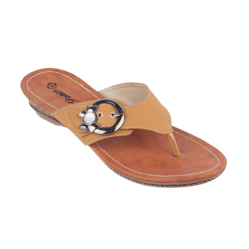 CBR Six Ricochet Sandals Wanita - Brown