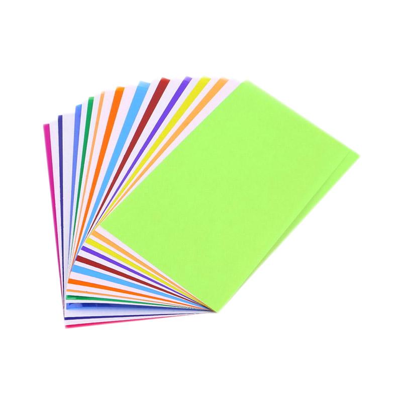 harga CCC Film Paper 12 Color Light Flash Camera Diffuser Filter Kertas Warna Blibli.com