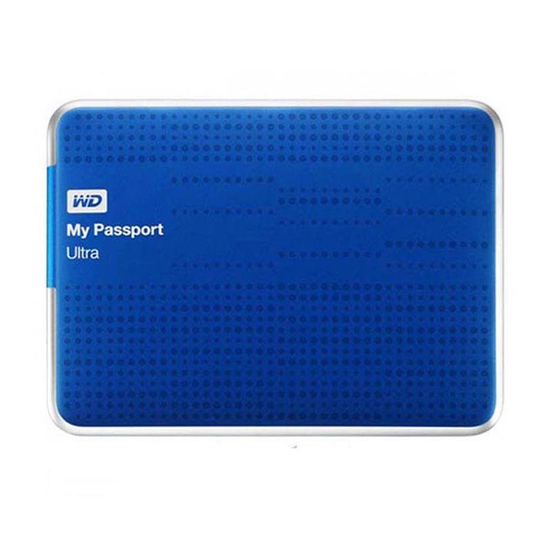 WD Passport Ultra Biru Hard Disk [2 TB]