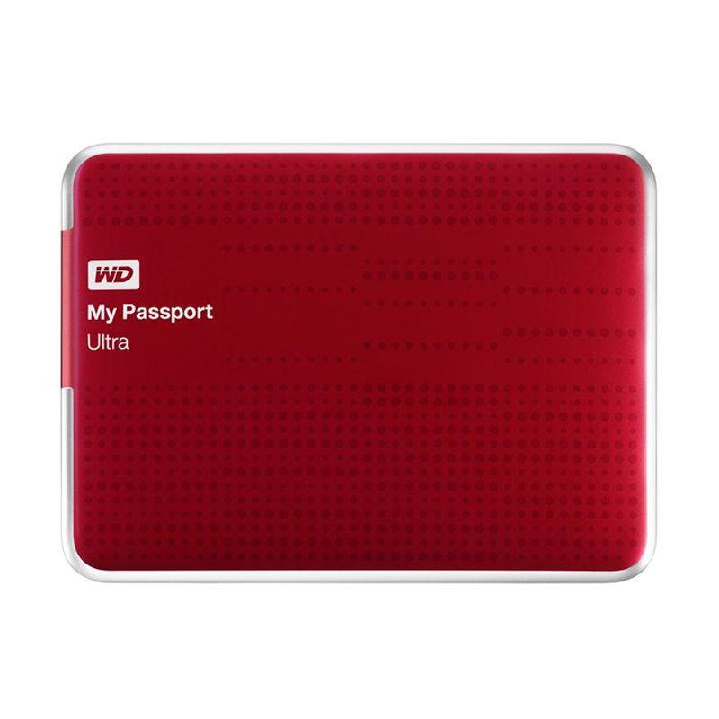 WD Passport Ultra Merah Hard Disk [1 TB]