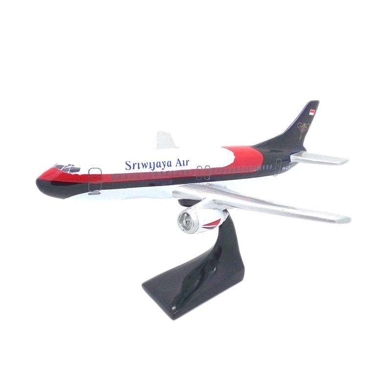 harga Central kerajinan Miniatur Pesawat Terbang Sriwijaya Air Blibli.com