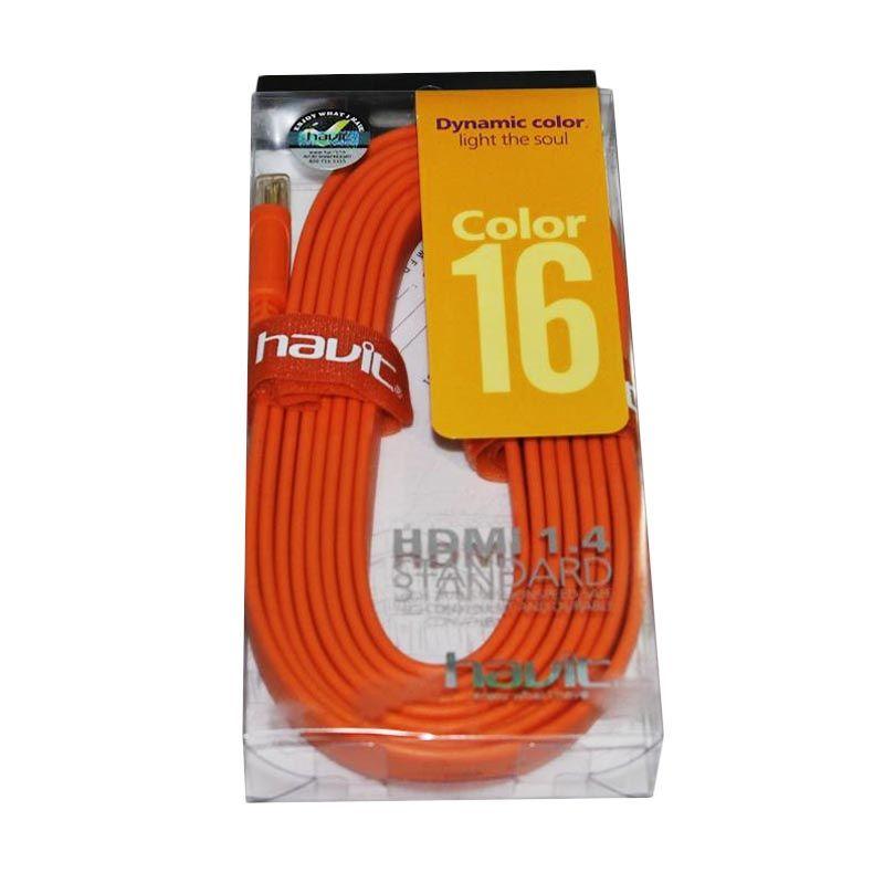 Havit Cable HDMI colour 3M Orange