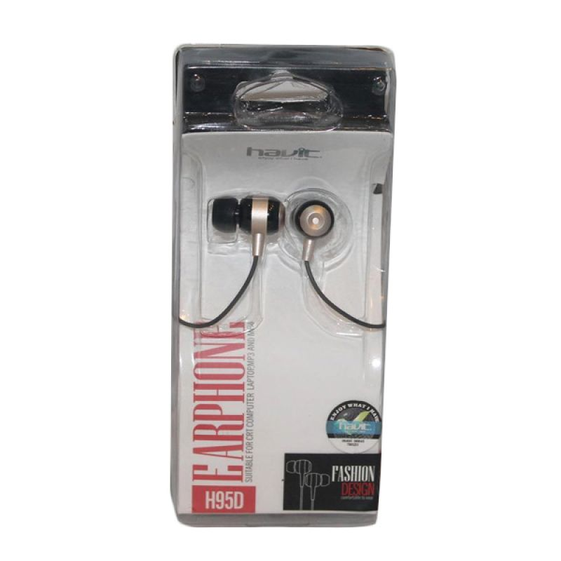 Havit Earphone H95D Coklat Muda