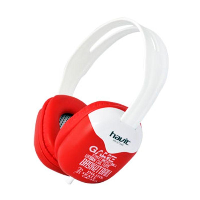 Havit Headphones HV-ST046 Merah