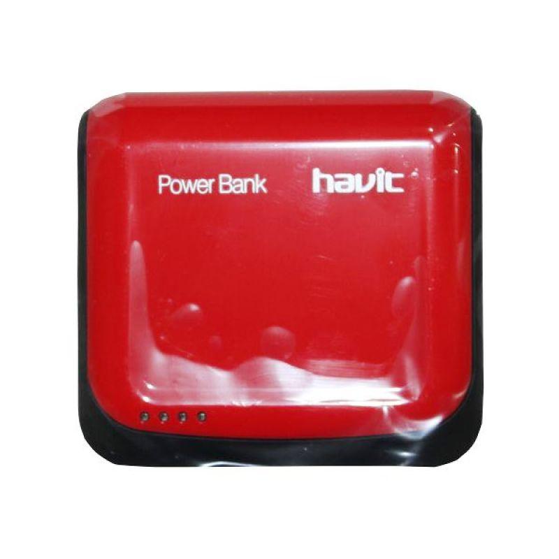 Havit Power Bank HV-PB644 4400mAh Merah Hitam