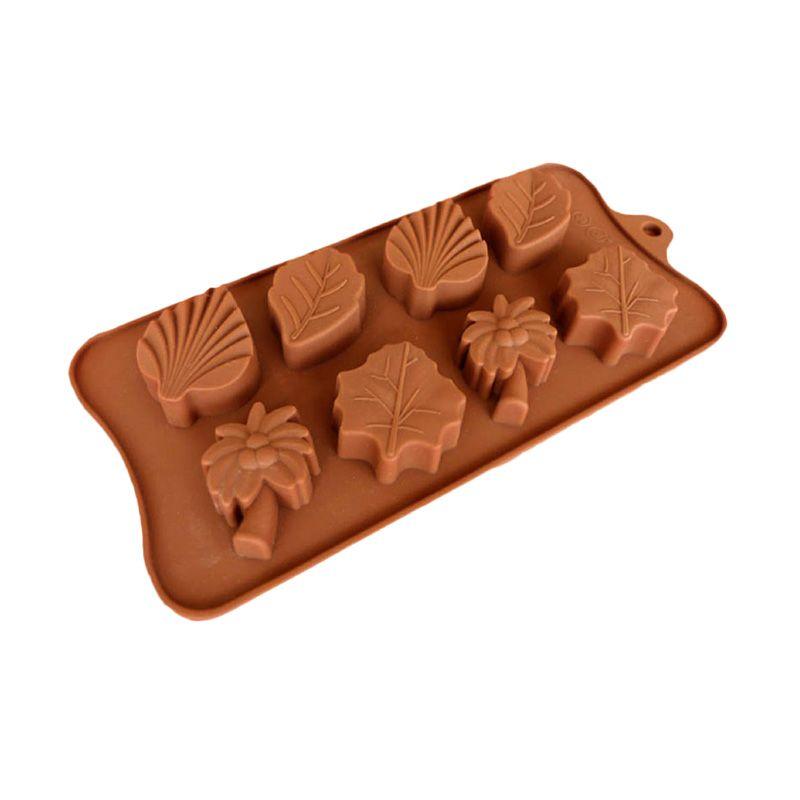 Cetakan Jelly Leaf II Cetakan Coklat or Puding